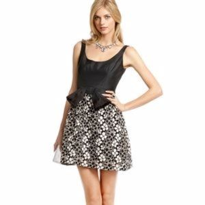 Milly of New York Magnolia Lace Floral Bow Dress